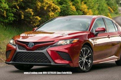 กันชนหน้าเต็มตรงรุ่น Toyota Camry All New 2019 สไตล์ USA