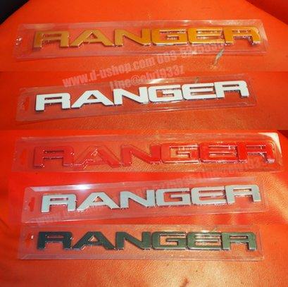 โลโก้ RANGER กระจังหน้าตรงรุ่น Ford Ranger All new 2018 (NEW)