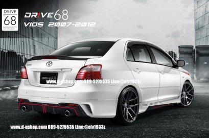 ชุดแต่งรอบคัน Toyota Vios 2007-2012 ทรง Drive68