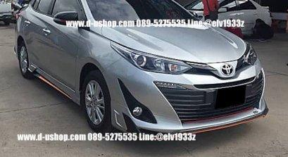 ชุดแต่งรอบคัน Toyota Yaris All New ATIV รุ่น4ประตู ทรง RIDER
