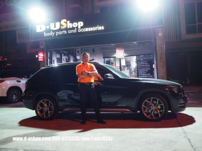 BMW X1 สีดำแต่งหล่อกับดียูช้อป
