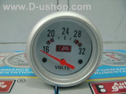 AUTO GUAGE WHITE 60 MM#2