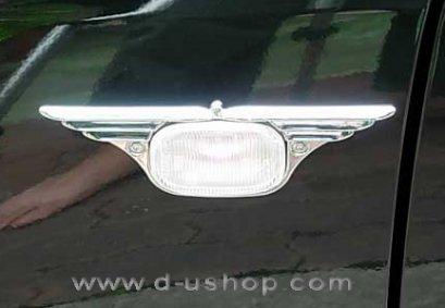 ครอบไฟแก้มปีกนก Nissan Tiida 06