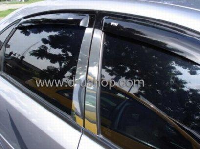 กันสาด Chevrolet Optra 03 รุ่น 5 ประตู