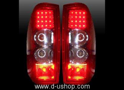 ไฟท้าย Led Dmax 2002 (ขาว-แดง)