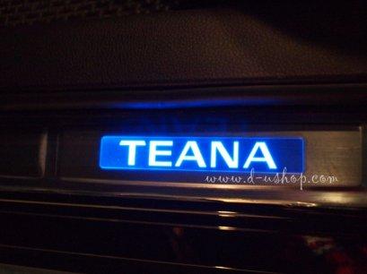 กาบบันไดมีไฟ Logo Teana ลาย 2