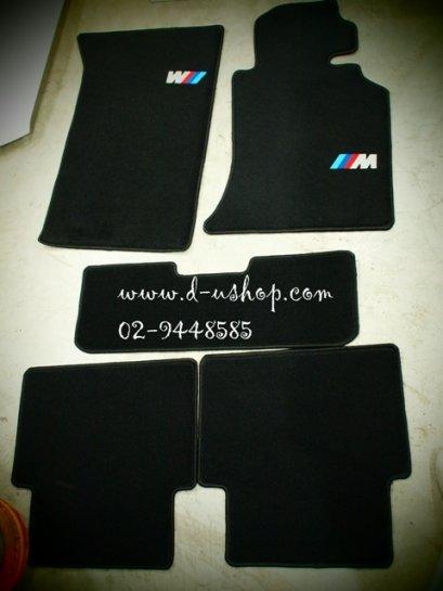พรมปูพื้นสั่งตัดเข้ารูป โลโก้ M สำหรับ BMW E36