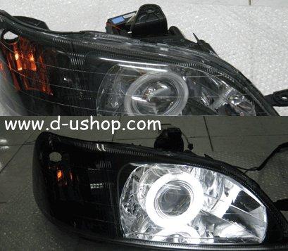 โคมไฟหน้า พร้อมวงแหวน Honda City Type Z 99-2000