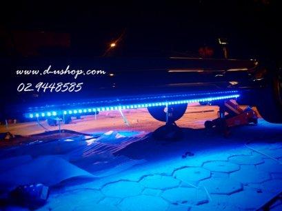 รับติดไฟ LED ใต้ท้องรถ แบบสีเดียว สำหรับรถทุกรุ่น