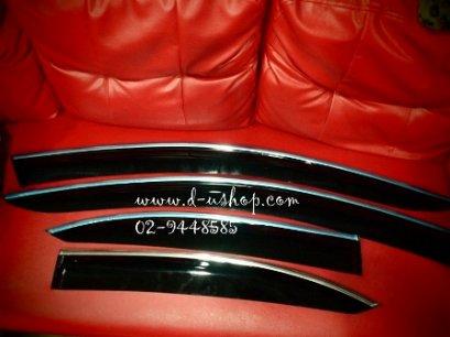 กันสาดขอบโครเมียม Honda Accord ปี 08-09