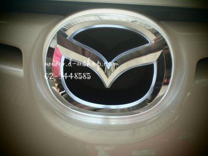 โลโก้ฝากระโปรงหน้าแบบมีไฟสำหรับ Mazda 2 ปี 2010