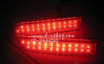 ทับทิมท้ายแดง LED Vellfire 2 Step