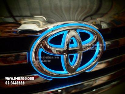 โลโก้มีไฟหน้า Toyota Fortuner New 2011