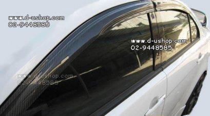 กันสาดเคฟล่าแท้ Mitsubishi Lancer EX