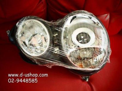 โคมไฟหน้าโปรเจคเตอร์ Benz W210