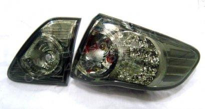 โคมไฟท้าย Smoke โดนัท LED Toyota Altis 08-11