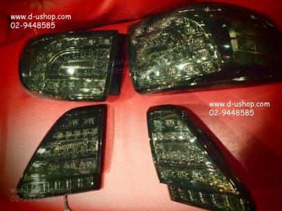 โคมไฟท้ายSmoke LED Toyota Altis 2008-2011