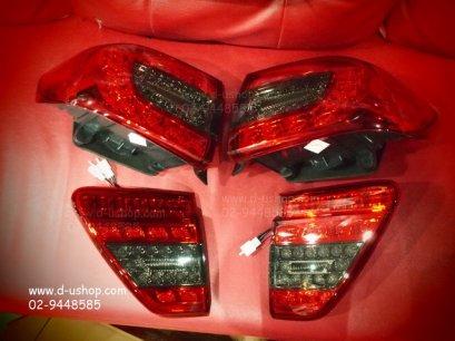 โคมไฟท้ายแดง LED Toyota Altis 2008-2011