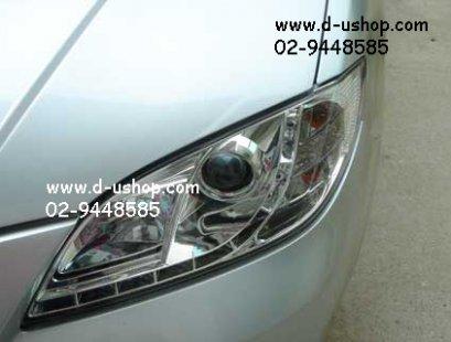 โคมไฟหน้าโปรเจคเตอร์ ตรงรุ่น Mazda2 ยี่ห้อ Sonar