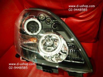 โคมไฟหน้าโปรเจคเตอร์ Smoke Nissan Teana 05-08