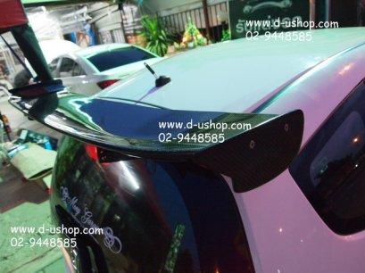 สปอยเลอร์ Jazz/Fitt 08-12 JS Racing Carbon แท้ทั้งชิ้น