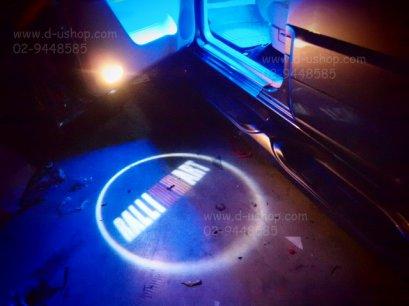 ชุดไฟ LED Shadow Light ส่องพื้นแบบมีโลโก้ RalliArt สำหรับ Mitsubishi ทุกรุ่น