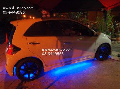 ชุดไฟ LED ใต้ท้องรถ+รีโมท (ปรับได้ 7 สี)สำหรับ Honda Brio