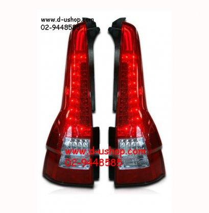 โคมไฟท้าย แดงขาว LED Honda CRV G3