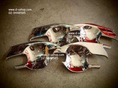 เบ้ามือเปิดประตูโครเมียมตรงรุ่น Toyota AVANZA New 2012