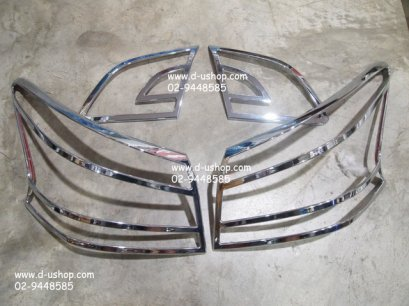 ครอบไฟท้าย โครเมียม Nissan Sylphy New 2012