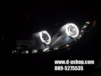 ไฟหน้า Accord 2008 Audi Style โคมSmoke ยี่ห้อ SONAR