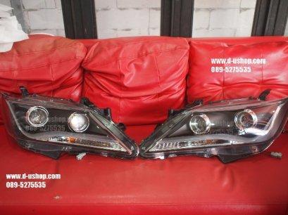 โคมไฟหน้าโปรเจคเตอร์ Toyota Camry New 2012 Eagle Eyes