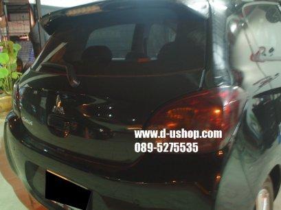 หุ้มฟิล์มไฟท้าย Smoke Mitsubishi Mirage New 2012