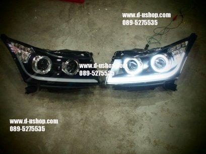 โคมไฟหน้าโปรเจคเตอร์ Chevrolet Cruze สไตล์ Audi V.4 CCFL