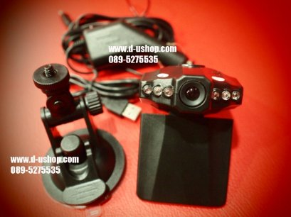กล้องติดรถยนต์ Full HD HD DVR จอ 2.5 นิ้ว อินฟาเรด สำหรับรถทุกรุ่น