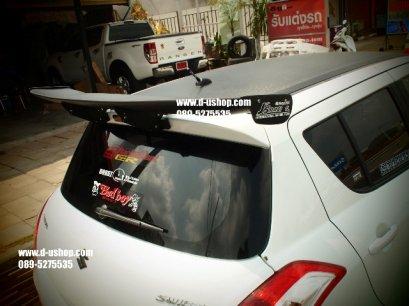 สปอยเลอร์ JS ดำด้าน Suzuki Swift Eco Car 2012