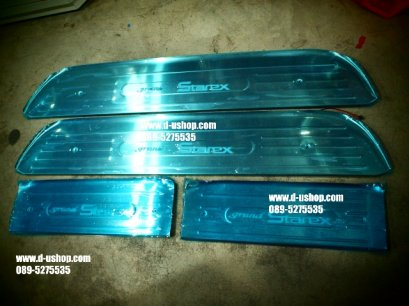 กาบบันไดมีไฟแสงสีฟ้า Hyundai H1 รุ่น Grand starex