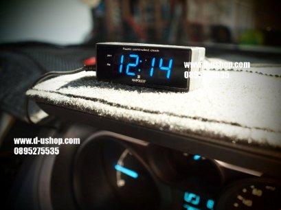 นาฬิกาดิจิตอล LED สำหรับรถยนต์ นำเข้าญี่ปุ่น