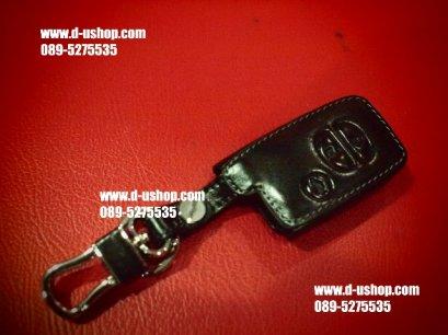 กระเป่ากุญแจหนังแท้สีดำตรงรุ่น Toyota Prius