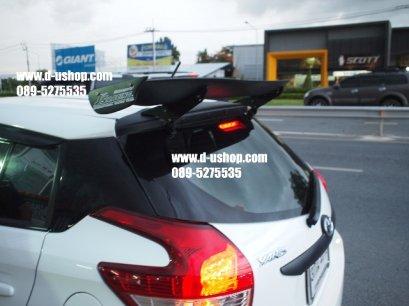 สปอยเลอร์ JS ดำด้าน Toyota Yaris All New 2014