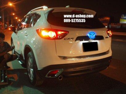 โลโก้มีไฟท้าย Mazda CX5 แท้