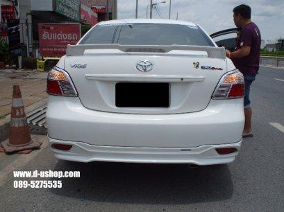 ครอบไฟท้ายโครเมียมตรงรุ่น Toyota Vios 2007-2010