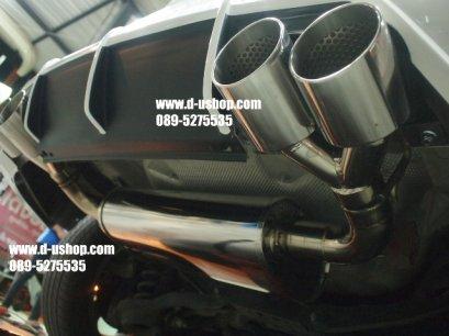 ท่อสูตรคู่ชุดเต็ม สูตรปลาย ตรงรุ่น Ford Focus New2013