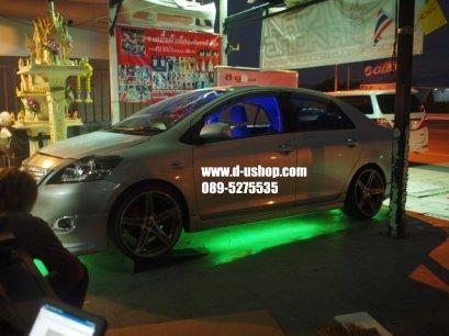 ชุดไฟ LED ใต้ท้องรถ+รีโมท (ปรับได้ 7 สี)สำหรับ Toyota Vios