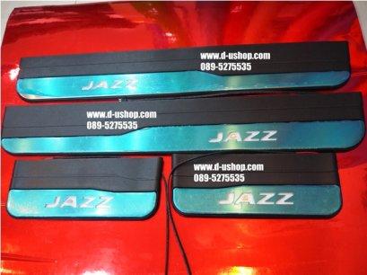 กาบบันไดมีไฟตรงรุ่ง Honda Jazz All New 2014