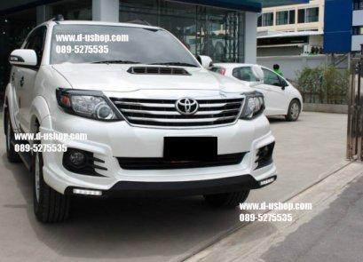 ชุดแต่งรอบคัน Toyota Fortuner New 2014 ทรงTRD V.5ท่อคู่