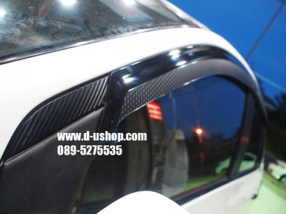 กันสาดเคฟล่า Toyota Vios 2007-2010