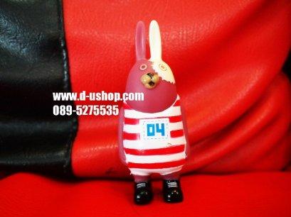 ตุ๊กตาเสียบเสาอากาศเจ้าหนูนักโทษสีชมพู สำหรับรถทุกรุ่น