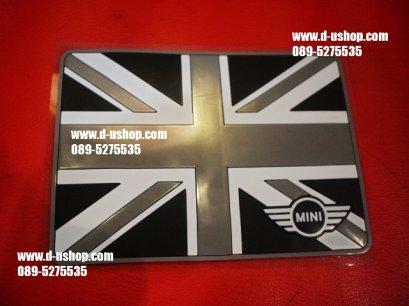 แผ่นกันลื่นลายธงชาติอังกฤษขาวดำ Limited สำหรับรถทุกรุ่น