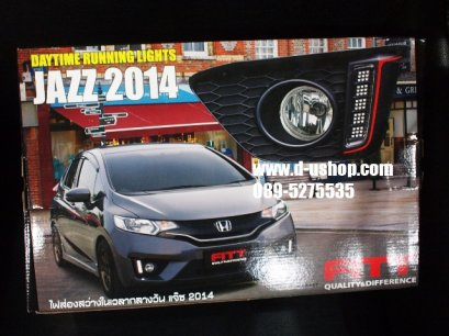 ชุดไฟ Daylight Running Time LED FITT ตรงรุ่น Honda Jazz All New 2014